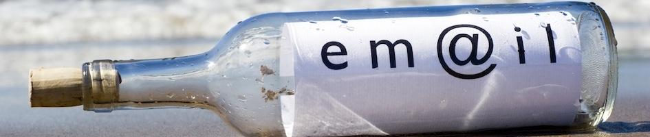 E-maili turundus pudelis