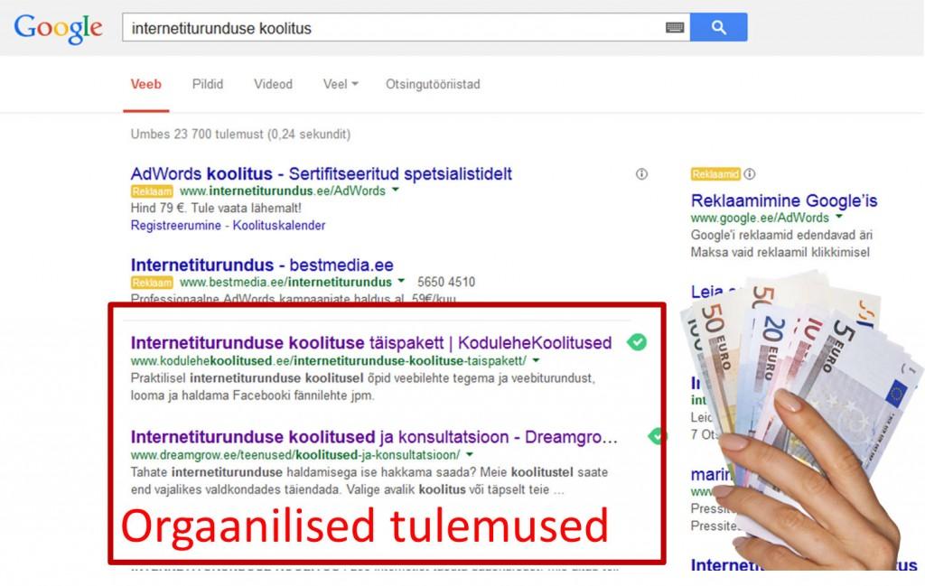 Kuidas saada Googles leitavaks?