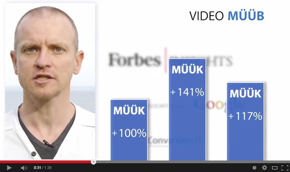 Video tõstab müüki