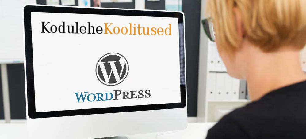 Kodulehe tegemine WordPressi koolitus