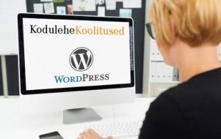 Kodulehe tegemine WordPressi koolitused