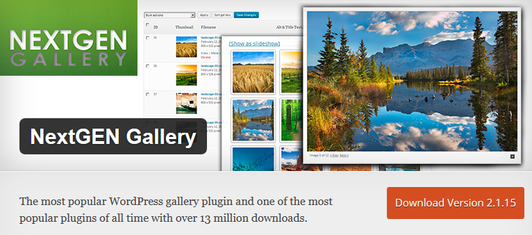 NextGEN Gallery_WordPress Plugin