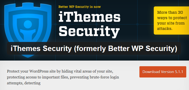 iThemes Security_WordPress Plugin