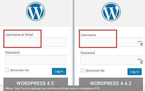 WordPRess_sisselogimine