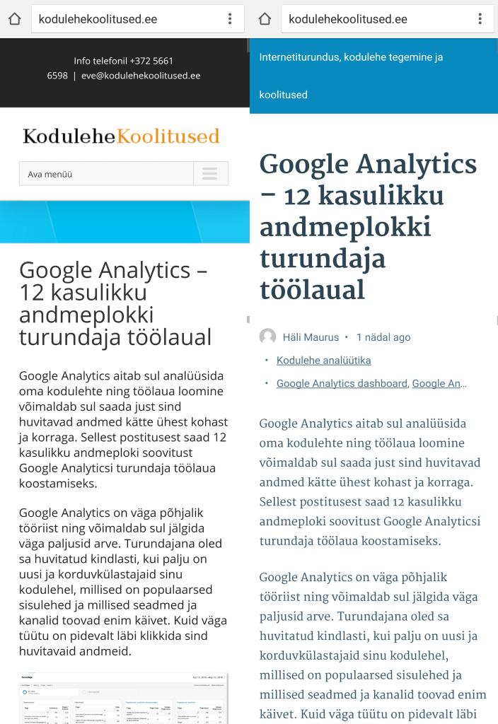 Google_AMP_sisulehtede_vordlus