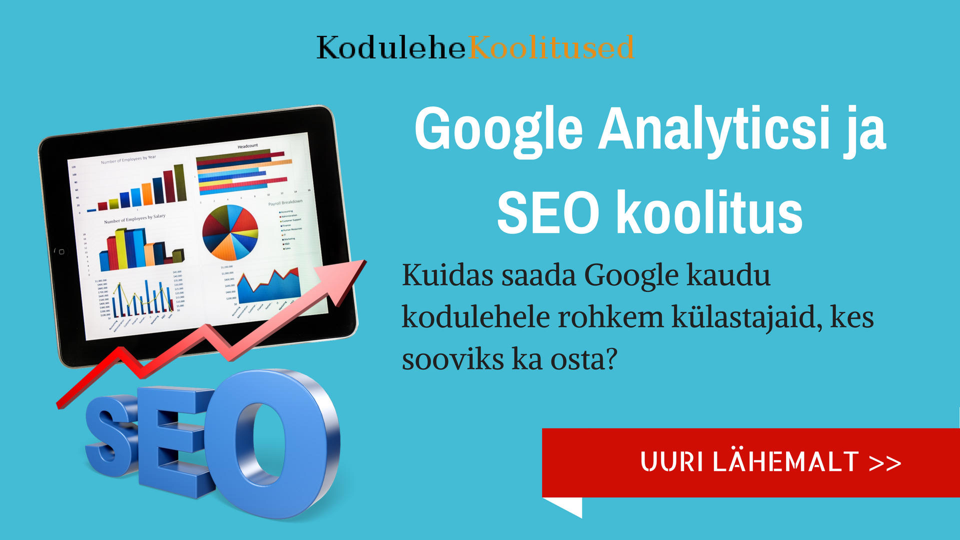 Google Analytics ja SEO