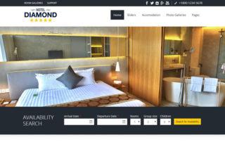 hotelli veebilehe disain