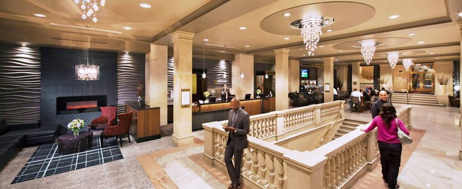 hotelli lobby