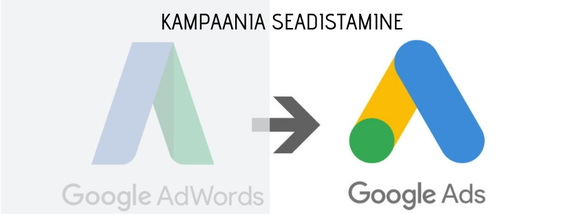 Google Ads kampaania seadistamine