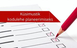 Kodulehe loomine ja planeerimine