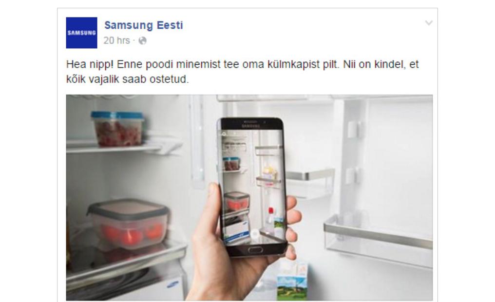 Samsung Eesti Facebookis