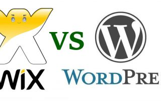 Kas WIX või WordPress