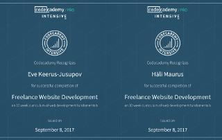Codecademy kuidas luua veebilehte nullist