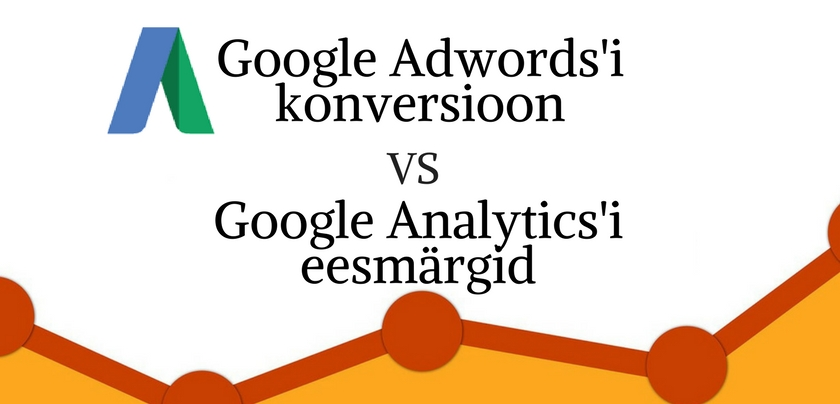 Google Analytics vs Google Awords goals