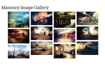 FooGallery Masonry Image Gallery