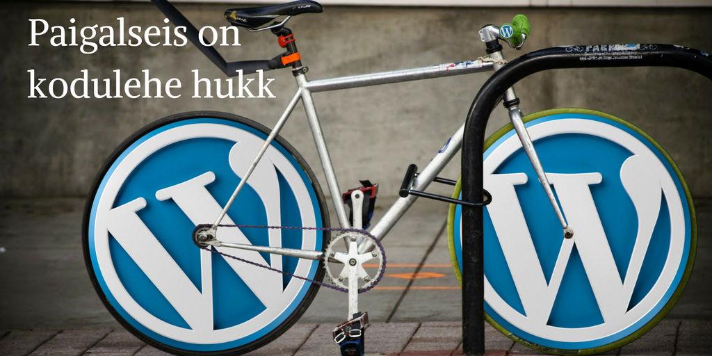 WordPressi uuendamine ja kodulehe hooldus