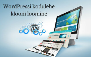 WordPressi kodulehe klooni loomine