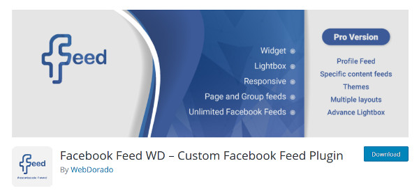 Facebook Feed plugin