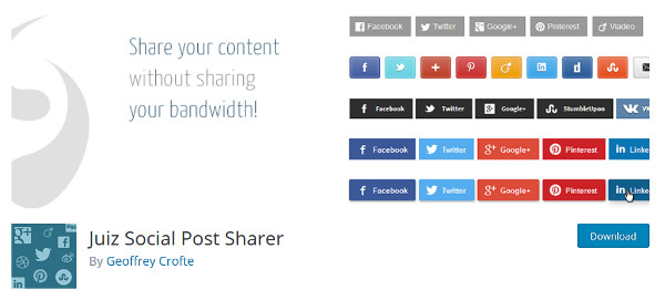Juiz Social Post Sharer plugin
