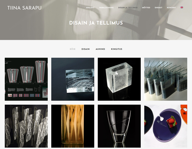 Tiina Sarapu veebileht