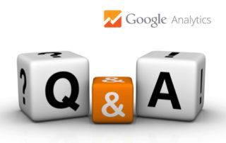 Google Analyticsi küsimused ja vastused