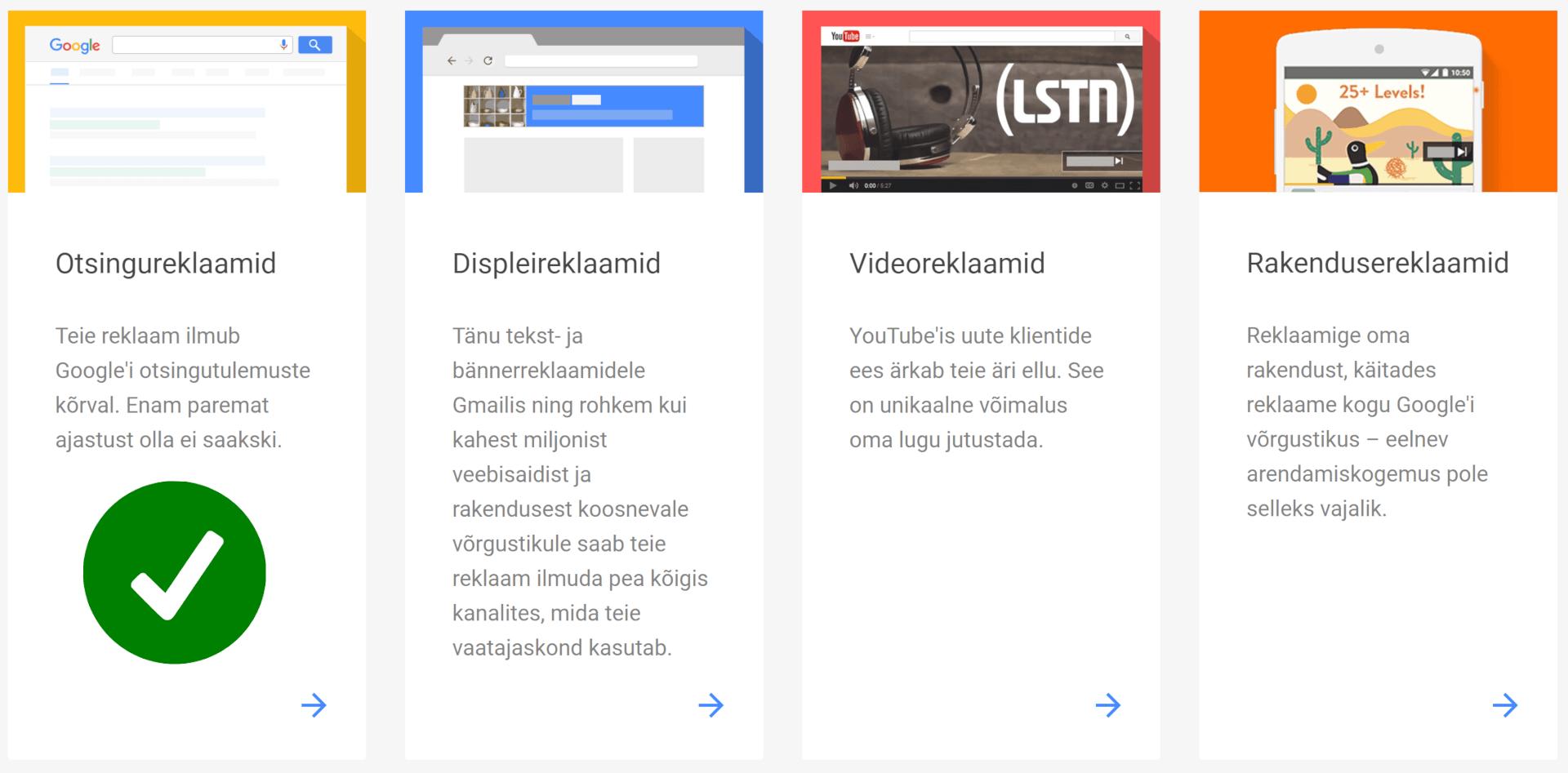 Reklaam Googles