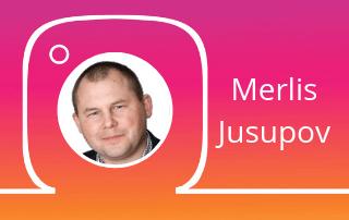 Instagrami koolitaja Merlis Jusupov
