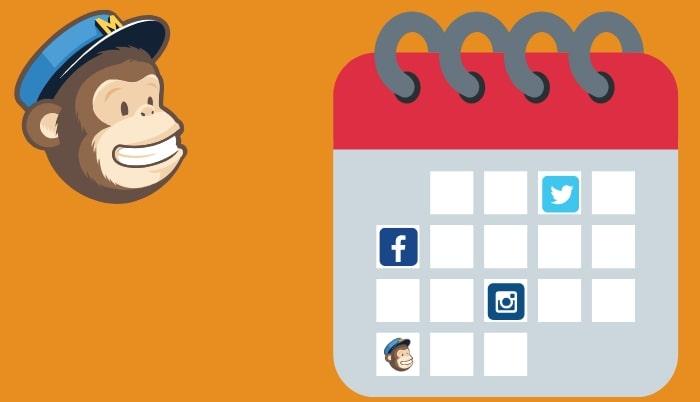 Kuidas postitada sotsiaalmeediasse läbi MailChimpi
