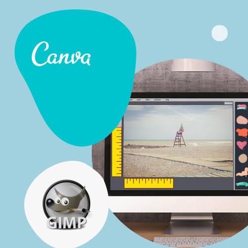 Fototöötlus õpetused Canva ja GIMP abil