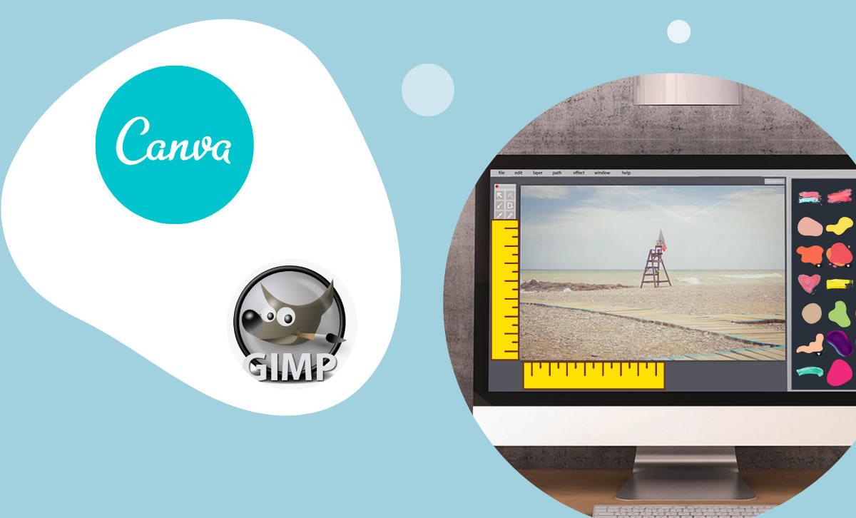 Canva ja GIMP pilditöötluse e-koolitus