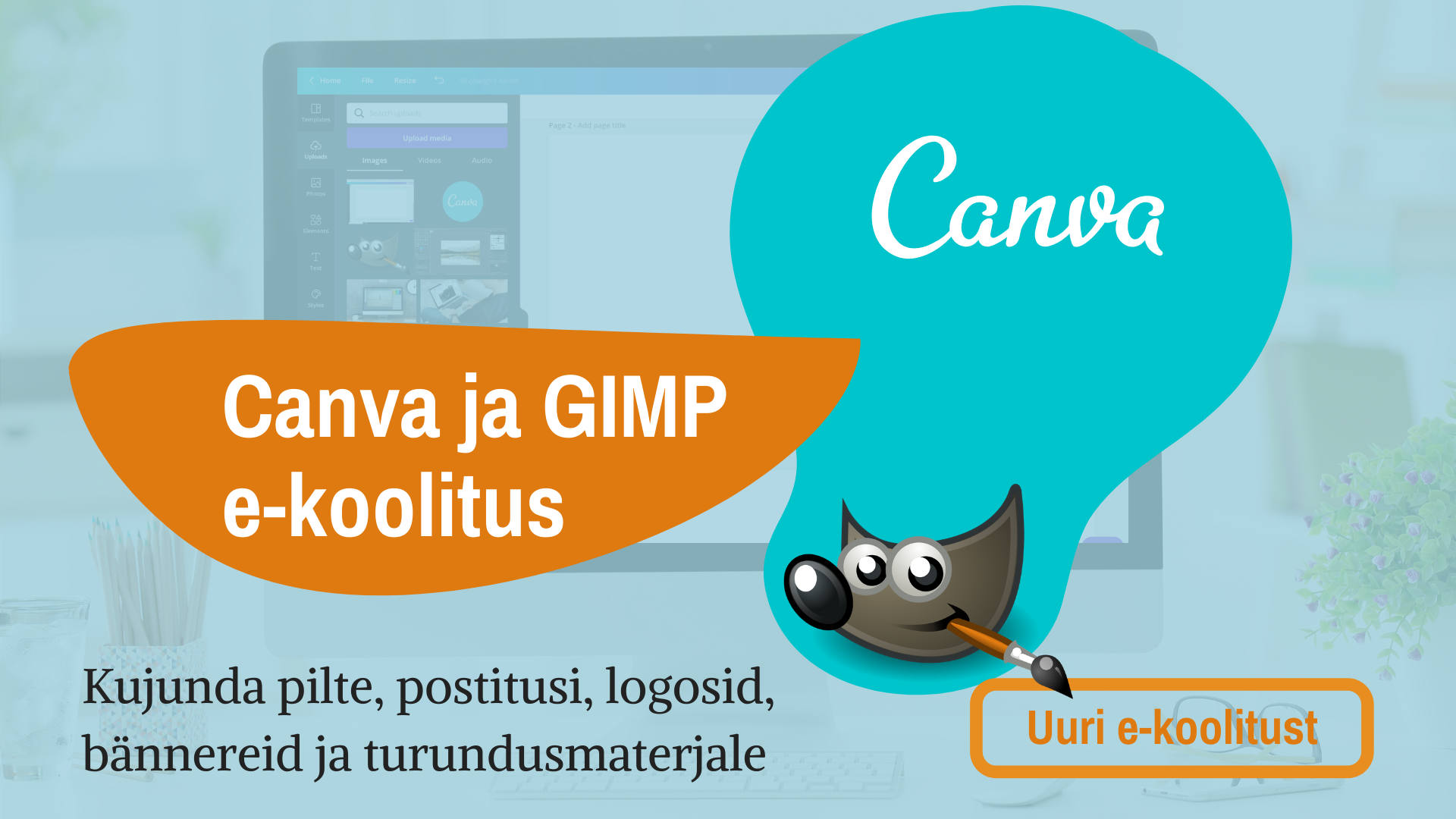 GIMP ja Canva koolitus